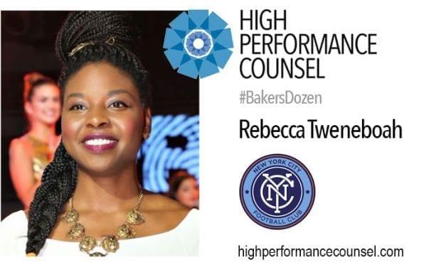 #BakersDozen: Rebecca Tweneboah