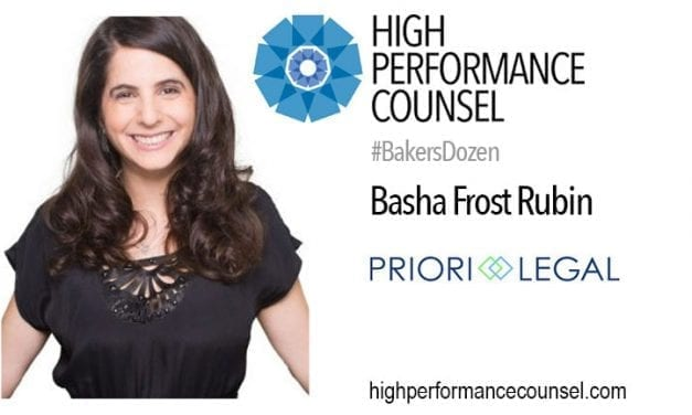 #BakersDozen: LegalTech CEO & Co-Founder Basha Rubin