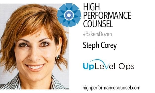 BEST OF THE BEST ON #FEARLESSLAW: SUCCESSFUL CLOC CO-FOUNDER & GENERAL PARTNER OF UPLEVEL OPS, STEPH COREY
