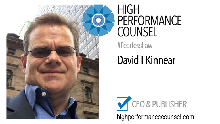 Legal Innovator: David Kinnear Helps Industry Leaders Prepare for the Future of Law