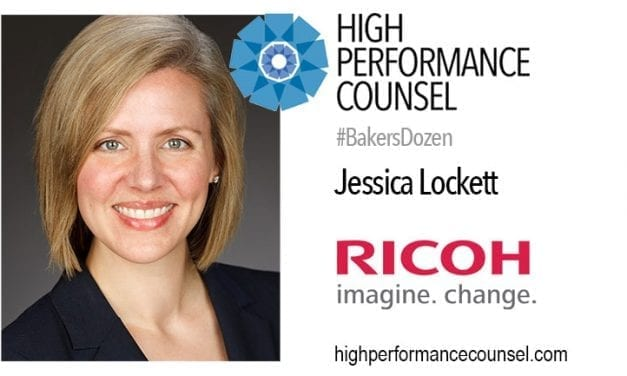 Lessons In Leadership: Jessica Lockett of RICOH In Interview For #BakersDozen