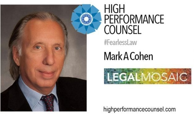 Mark Cohen: Law's Big Challenges Cross Borders and Common Resources Can Help Solve Them