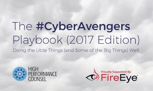 Get Your Copy Of The #CyberAvengers Cybersecurity Playbook (2017 Edition)