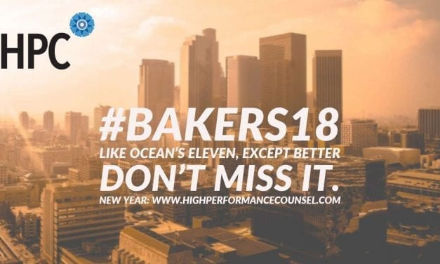 #Bakers18. Like Ocean's Eleven, Except Better. Don't Miss It.