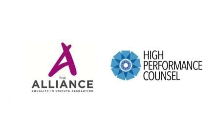 High Performance Counsel Supports London Launch of The Alliance for Equality in Dispute Resolution
