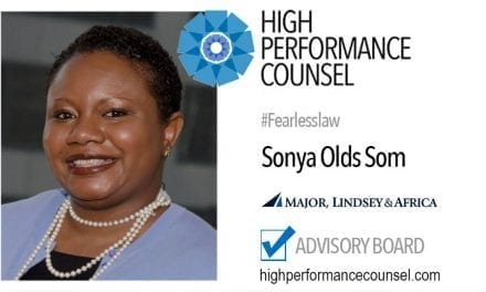 Sonya Olds Som, Partner at Major, Lindsey & Africa, Honored as Executive of the Year by the National Bar Association General Counsel Invitational