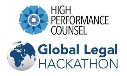 High Performance Counsel Joins Global Legal Hackathon as Media Partner