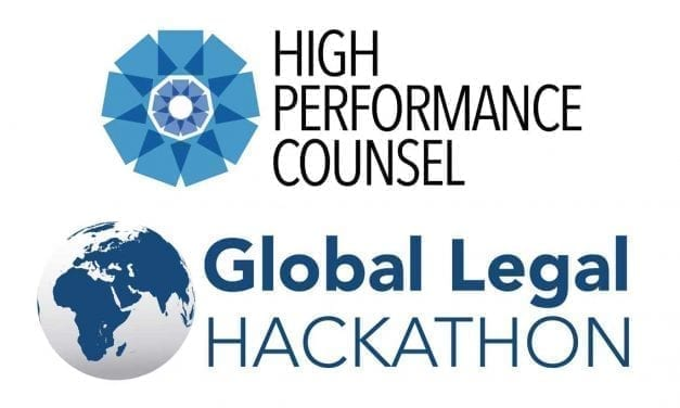 High Performance Counsel Joins Global Legal Hackathon as Media Partner