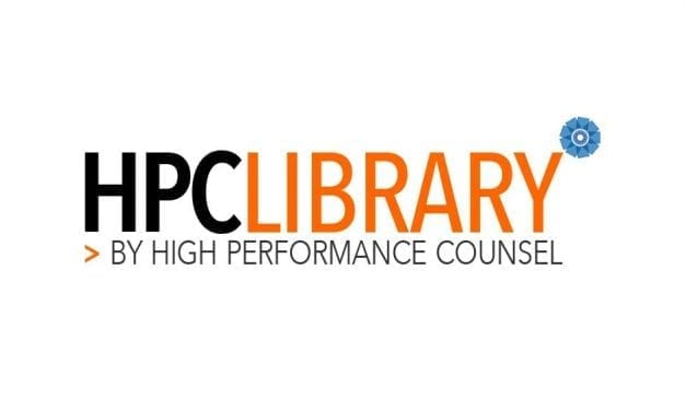 Legal Industry Welcomes Launch of High Performance Counsel Library for Legal Thought-Leadership: #HPCLibrary
