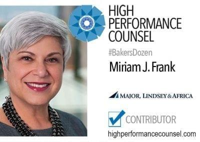 Miriam J. Frank