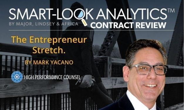 Legal Innovation Veteran, Mark Yacano: The Entrepreneur Stretch (Part 3 of 3)