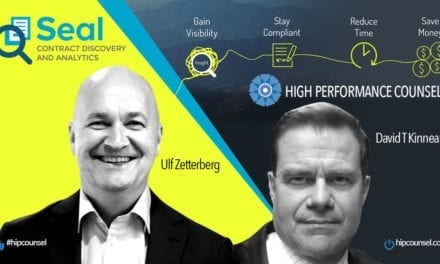 In The #Spotlight: Ulf Zetterberg CEO of SEAL In Conversation With High Performance Counsel