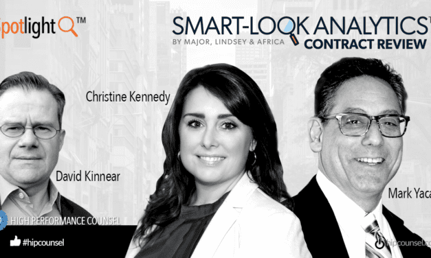 Special Issue #Spotlight: Mark Yacano and Christine Kennedy Speak With High Performance Counsel