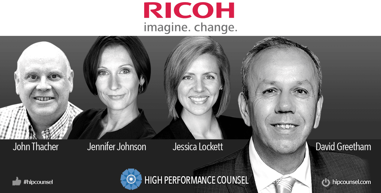 On #BakersBest: RICOH eDiscovery Talk to High Performance Counsel