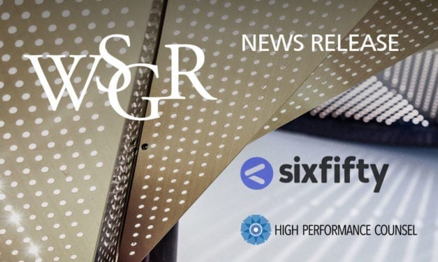 Wilson Sonsini Goodrich & Rosati Launches SixFifty, Combining Technology and Expertise to Deliver Automated Online Legal Products