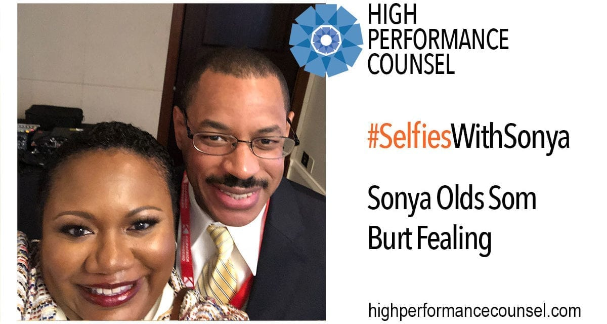 High Performance Counsel Presents #SelfiesWithSonya:  Burt Fealing, General Counsel of Southwire Company, In Interview With Sonya Olds Som