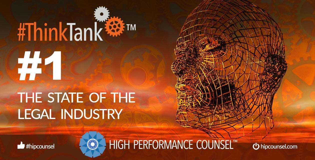 #ThinkTank State of the Legal Industry Briefing #1: April 12, 2019