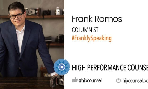 On #FranklySpeaking: Creating Culture – by HPC Columnist Frank Ramos