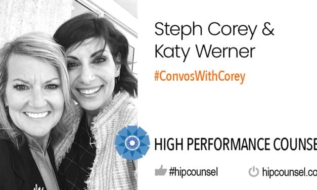 On #ConvosWithCorey: Steph Corey Speaks With Katy Werner at Integreon