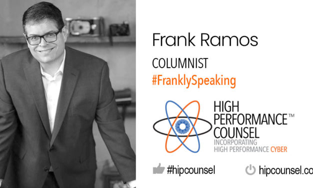 On #FranklySpeaking with Frank Ramos: LinkedIn For Lawyers