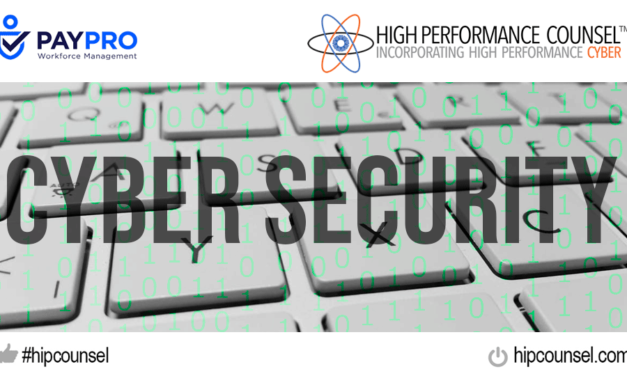 JULY 16 WEBINAR: HPC PRESENTS TOP TIPS IN CYBERSECURITY FROM TODAY'S LEADING EXPERTS